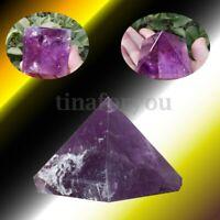 Amethyst Stone Orgonite Pyramid Energy Generator Reiki Oregon Healing Crystal