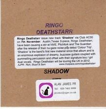 (CE665) Ringo Deathstarr, Shadow - 2011 DJ CD