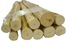Small Log Furniture Logs, Hand Peeled Pine, kiln dried, Use your tenon cutter!