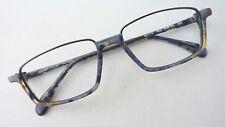 Kleidung & Accessoires Sonnenbrillen & Zubehör Brillen Gestell Stahl Fassung Mit Schmaler Form Nur Oberrand Graublau Gr M Verschiedene Stile