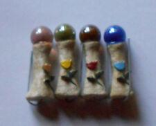 "2"" Miniature Garden Fairy Gnome Tulip Gazing Ball with Pick"