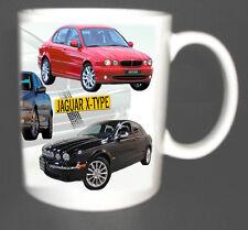 JAGUAR X-TYPE CLASSIC CAR MUG LIMITED EDITION XMAS GIFT