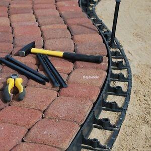Höhe 78 mm Pflasterkante Rasenkante Wegebefestigung Kantensteine aus Kunststoff
