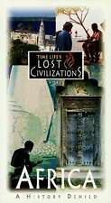 """NEW Time Life Lost Civilizations VHS """"Africa: A History Denied"""" Zimbabwe Swahili"""