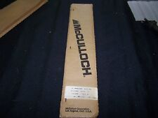 "New Old stock Genuine McCulloch Professional 16"" Bar .325.050  PN # 218923"