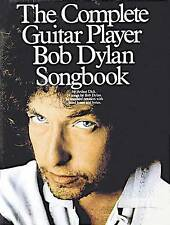 Very Good, The Complete Guitar Player - Bob Dylan Songbook. Sheet Music for Melo