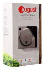 August Doorbell Cam, Silver