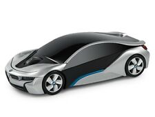 Official Bmw I8 Concept Car Wireless Computer Mouse - Silver