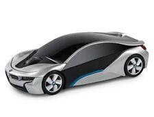 Oficial BMW I8 Concept Car equipo inalámbrico ratón-Plata