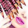 12 Farben Professionelle Wasserdichte Dauerhafte Lipliner Lip Liner Pencil