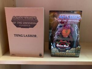 Masters of the universe classics tung lashor new & sealed motu motuc