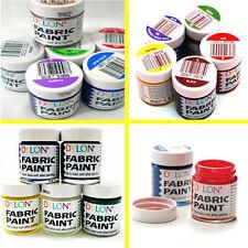 DYLON Color Fun Fabric Paints 25ml Textile Dye T-shirt Shoes - 18 Colors