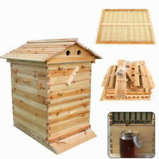 Luxury Bee Hive Wooden House Raw Frame Honey Extractor Bee Hive House Kit