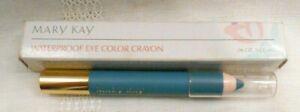 MARY KAY EYE COLOR CRAYON CORNFLOWER BLUE WATERPROOF 4014