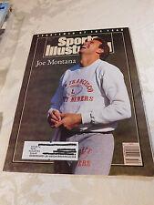 Sports Illustrated December 24, 1990 - Sportsman of the Year - Joe Montana