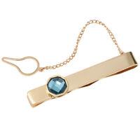 Fermacravatta da uomo di moda per catena di cravatta in acciaio inossidabile