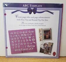 Creative Memories Scrapbooking ABC Template *NEW - Retired