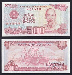 VietNam 500 dong 1988 FDS/UNC  A-05