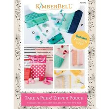 Kimberbell Take a Peek Zipper Pouch Cd Kd590