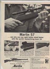 Original 1963 Marlin 57 Magazine Ad