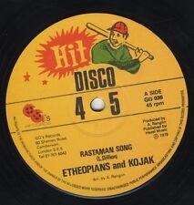 "Etheopians Kojak – Rastaman Song / Jah Dub ORIG UK 12"" EX 1979 GG's"