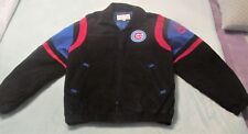 CHICAGO CUBS SUEDE COAT SIZE LARGE BEAUTIFUL COAT CUBS LOGO'S AND MORE