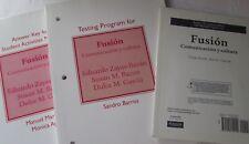 Fusion: Comunicacion y cultura (Testing Program, Answer Key, Audio CD (sealed))