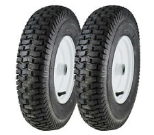 2 New 4.80-8 Monitor Turf Tires & Rims for Wheel Horse Lawn & Garden Tractor A3