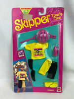 Vintage 1992 Mattel Barbie Skipper Trendy Teen Fashions Bike Outfit - New