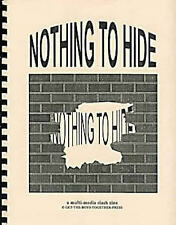 "Pros Law & Order Big Valley Fanzine ""Nothing to Hide"" SLASH Starsky & Hutch"