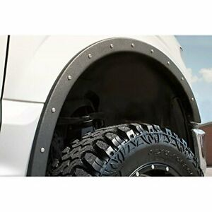 RBP RBP-791563 Textured Black Fender Trim (Ford F250/F350,4 Piece)