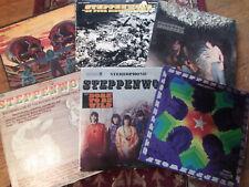 Steppenwolf 6 LP Collection Lot HARD ROCK PSYCH Vintage Vinyl Born to Be Wild