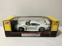 Anson Porsche 911 GT1 Scale 1:18 White Metal Diecast Car