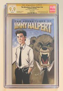 THE OFFICE COMIC • CGC 9.9 • SIGNED RAINN WILSON • ADVENTURES OF JIMMY HALPERT