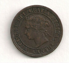 Canadian Large Cent - 1876 H XF/AU BOOK VALUE $15