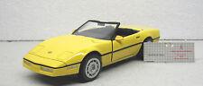 Franklin Mint  - 1986 Corvette  - 1:24  -  Diecast