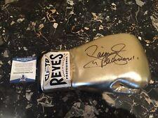 Manny Pacquiao signed reyes Gold glove Beckett Cert