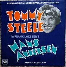 Hans Andersen. OCR. British vinyl LP. Tommy Steele, Frank Loesser. Near-mint