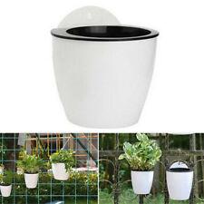 Stackable Self-Watering Garden Supplies Wall Hanging Flower Pot Planter Basket