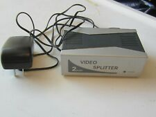 VPI Powered 2 Port VGA Splitter Video Distribution Box 1 PC > 2 Monitors in USA