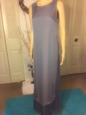 NEW Max Mara Pianoforte  Long Evening Gown 100% Silk  Size 8