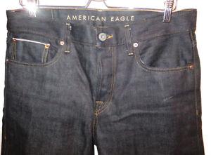 American Eagle AE Selvedge Men's Jeans Slim Straight 32x34