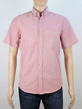 Topman mens Size small pink short sleeve shirt