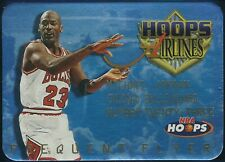 1997-98 HOOPS MICHAEL JORDAN AIRLINES FREQUENT FLYER INSERT CARD #4