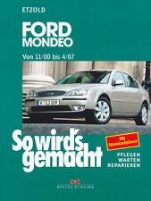 FORD MONDEO 2000-2007 TUNIER FLIEßHECK REPARATURANLEITUNG SO WIRDS GEMACHT 128
