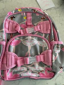 New Pottery Barn Kids Mackenzie MINI PRE-K Ballerina Glitter Backpack
