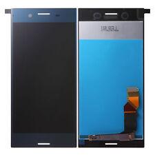 DISPLAY LCD+ TOUCH SCREEN per Sony Xperia XZ Premium G8141 G8142 BLU BLUE VETRO