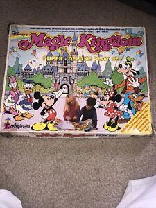 Vintage Colorforms Disney's Magic Kingdom Super Deluxe Playset OB