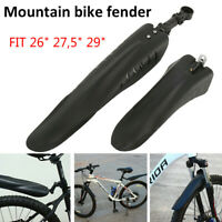 "MOUNTAIN BIKE BICYCLE CYCLE ROAD BIKE MTD MUDGUARDS FENDER KIT FOR 26"" 27,5"" 29"""