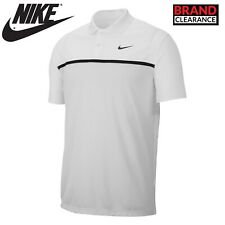 Nike Dri Fit Victory Golf Polo Shirt NK293 White/Black